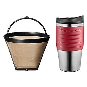 Amazon Com Kitchenaid Kcm0402cu Personal Coffee Maker