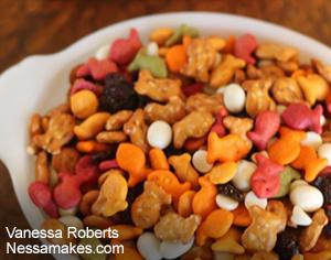 Goldfish Crackers Trail Mix