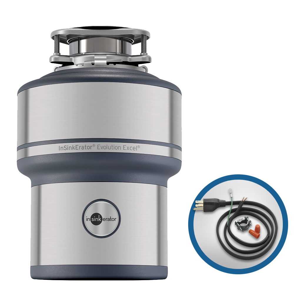 InSinkErator Evolution Excel 1.0 HP Household Disposer and CRD-00 ...