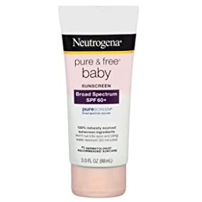 Neutrogena Pure & Free Baby Sunscreen Lotion Size SPF 60+