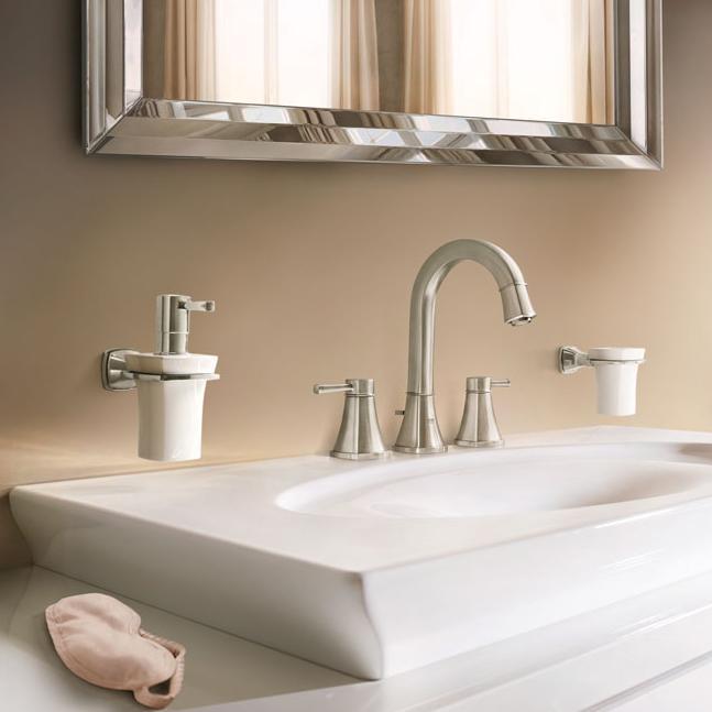 Grohe 20419en0 Grandera 2 Handle High Spout Bathroom
