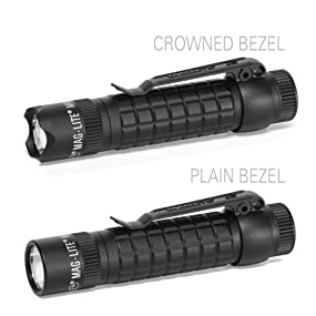 Maglite, USA, LED, TACTICAL, Flashlight, MAGTAC, CR123, Plain, Crowned, Bezel Quality, Durability, Reliability