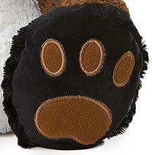 stuffed animal,taddletoes,large feet,plush,wildlife