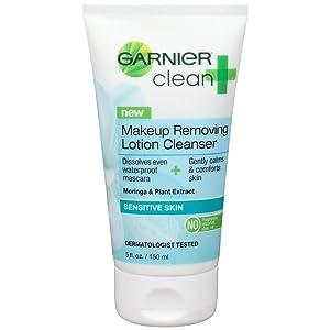 garnier sensitive makeup remover