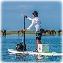 Fishing on a Ace-Tec by BIC SPort