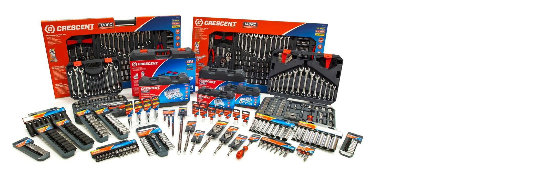 **Crescent CDS17 Home Hand Tools Sockets Metric