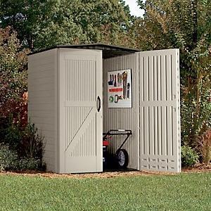 View larger & Amazon.com : Rubbermaid Roughneck Plastic Medium Vertical Storage ...