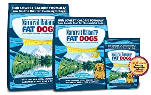 Fat Dogs low calorie dog food