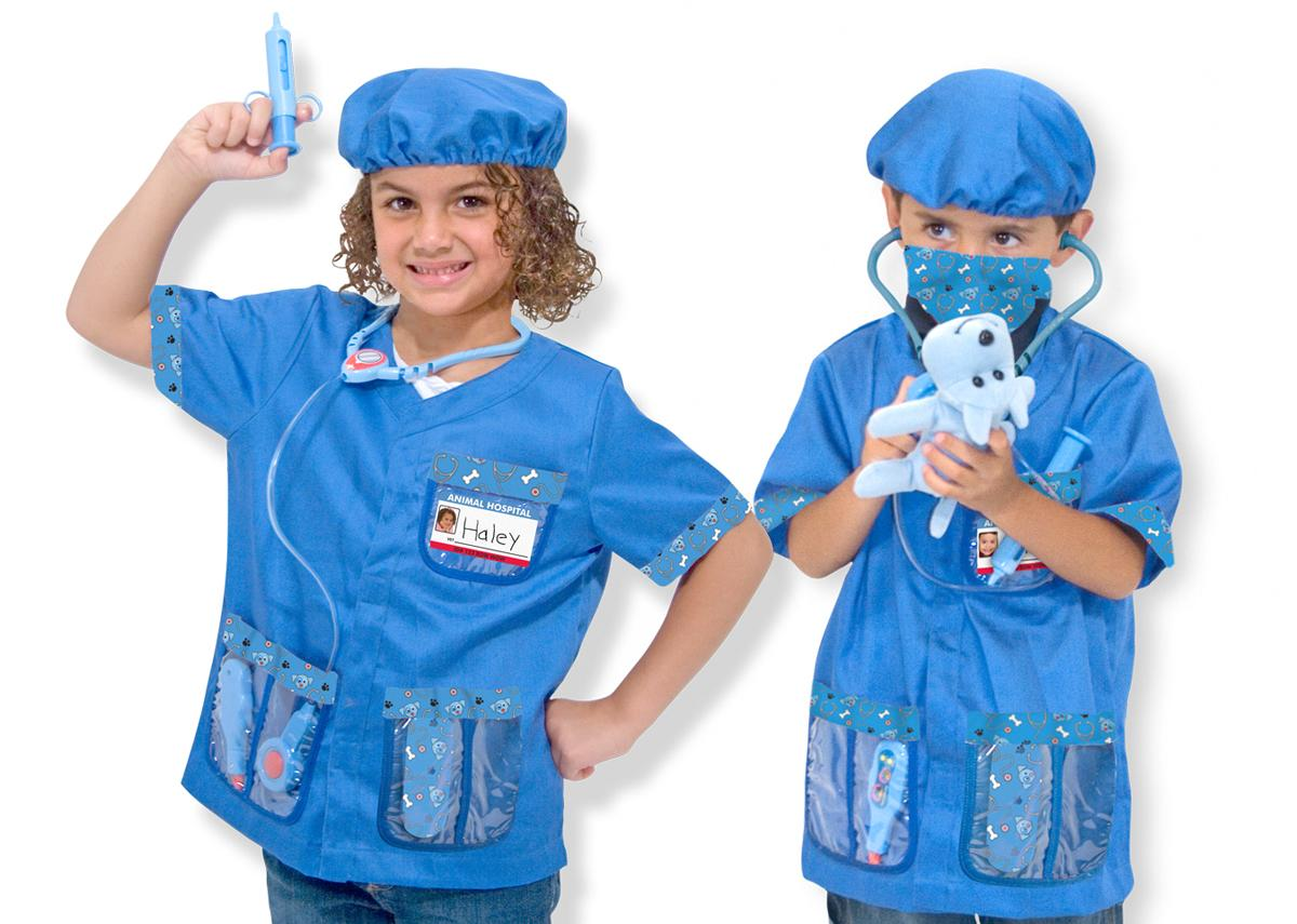 halloweencostume for 4 year old puppy animal doctor dress - Kids Doctor Halloween Costume
