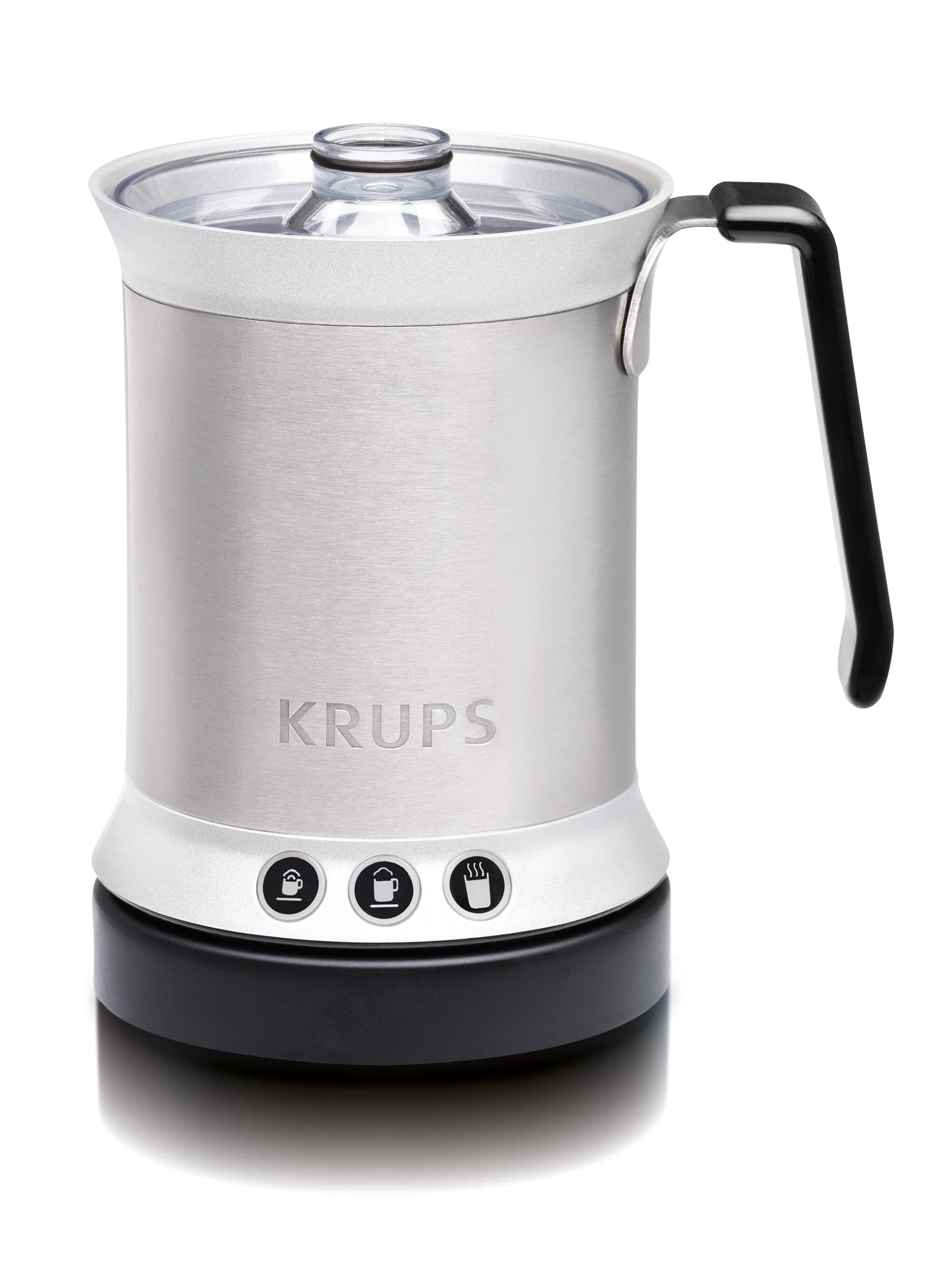 krups xl2000 electric milk frother for cappuccino latte and hot milk 0 3 quart. Black Bedroom Furniture Sets. Home Design Ideas