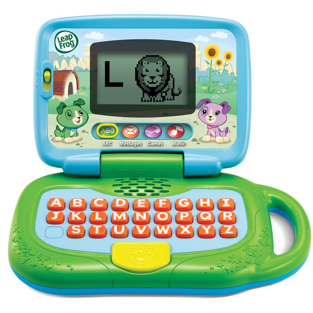 leapfrog my own leaptop green toys games. Black Bedroom Furniture Sets. Home Design Ideas