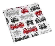 Amazon Com Carter S 4 Piece Toddler Bed Set Fire Truck
