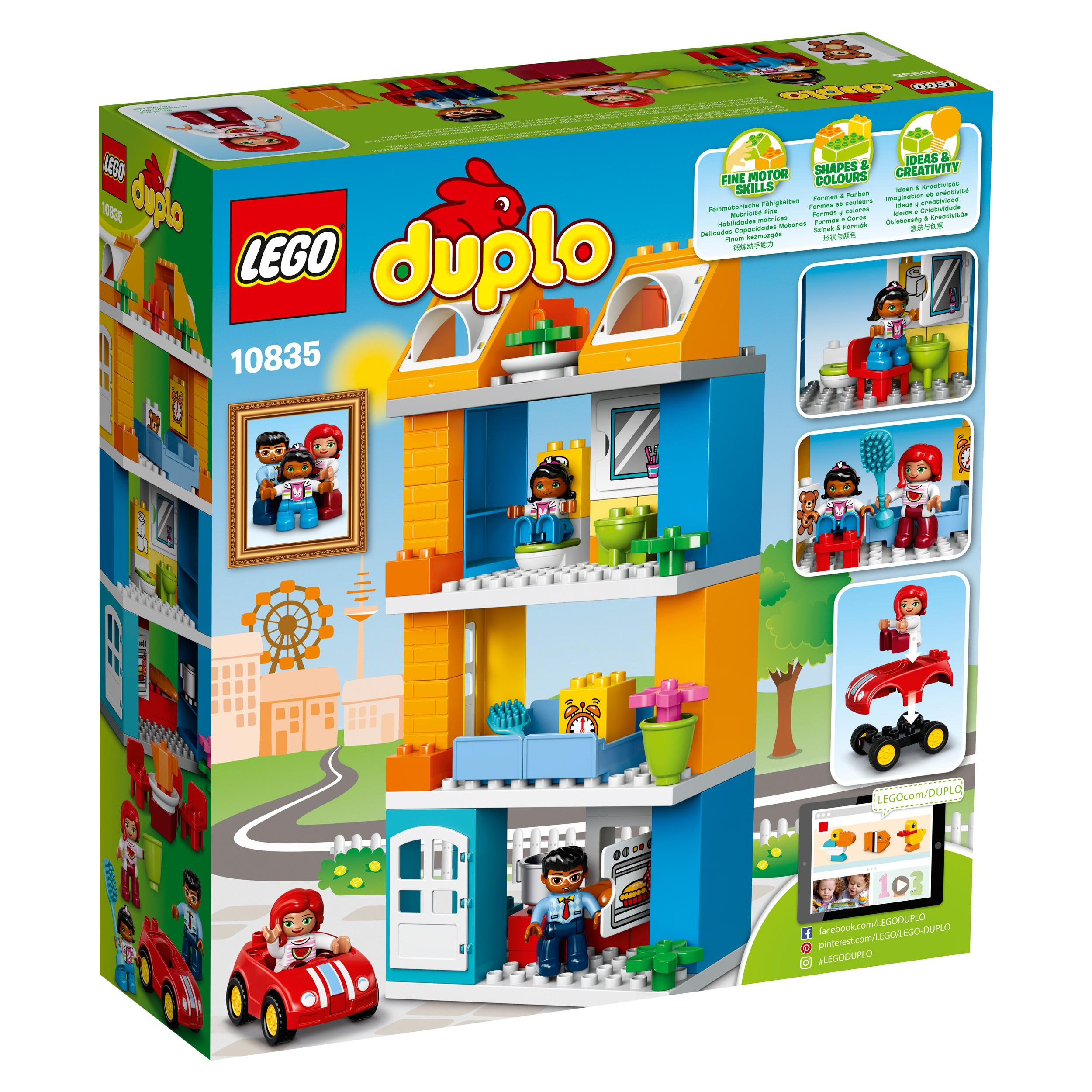 Function One Of The Five Building Blocks Of Kitchen: Amazon.com: LEGO Duplo My Town Family House 10835 Building
