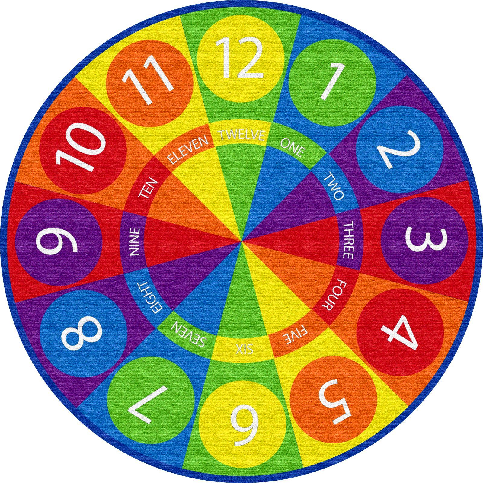Amazon.com: ECR4Kids Tick-Tock Clock Educational Circle
