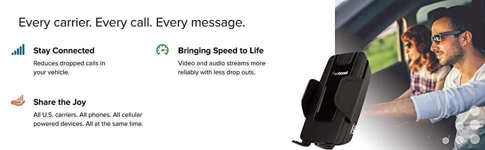 weBoost Drive 4G-S Cell Phone Signal Booster All Carriers