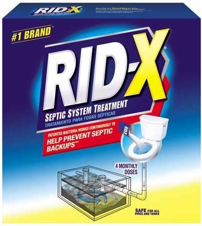Amazon Com Rid X Septic Tank System Treatment 4 Month