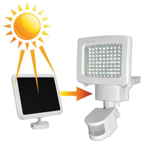 Amazon Com Sunforce 82080 80 Led Solar Motion Light