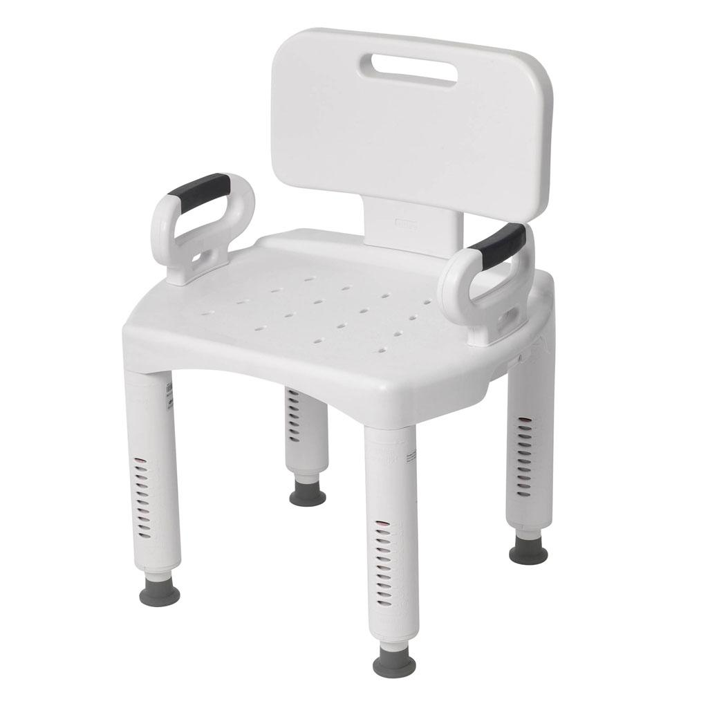 Amazon.com: Drive Medical Premium Series Shower Chair with Back and ...