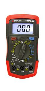 Model 1101-B 1401 1201-1301 Triplet Compact Digital Multimeter