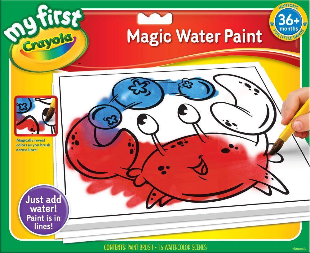 A fun magic coloring book amazon - Amazon Com Crayola My First Crayola Magic Water Paint Art
