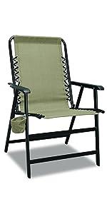 XL Suspension Folding Chair