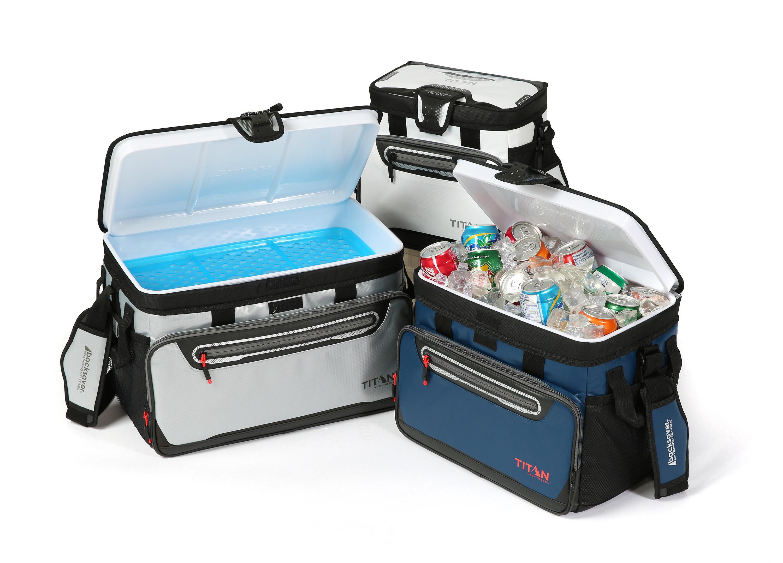 Amazon.com : Arctic Zone Titan 16 Can Zipperless Cooler, Blue : Sports