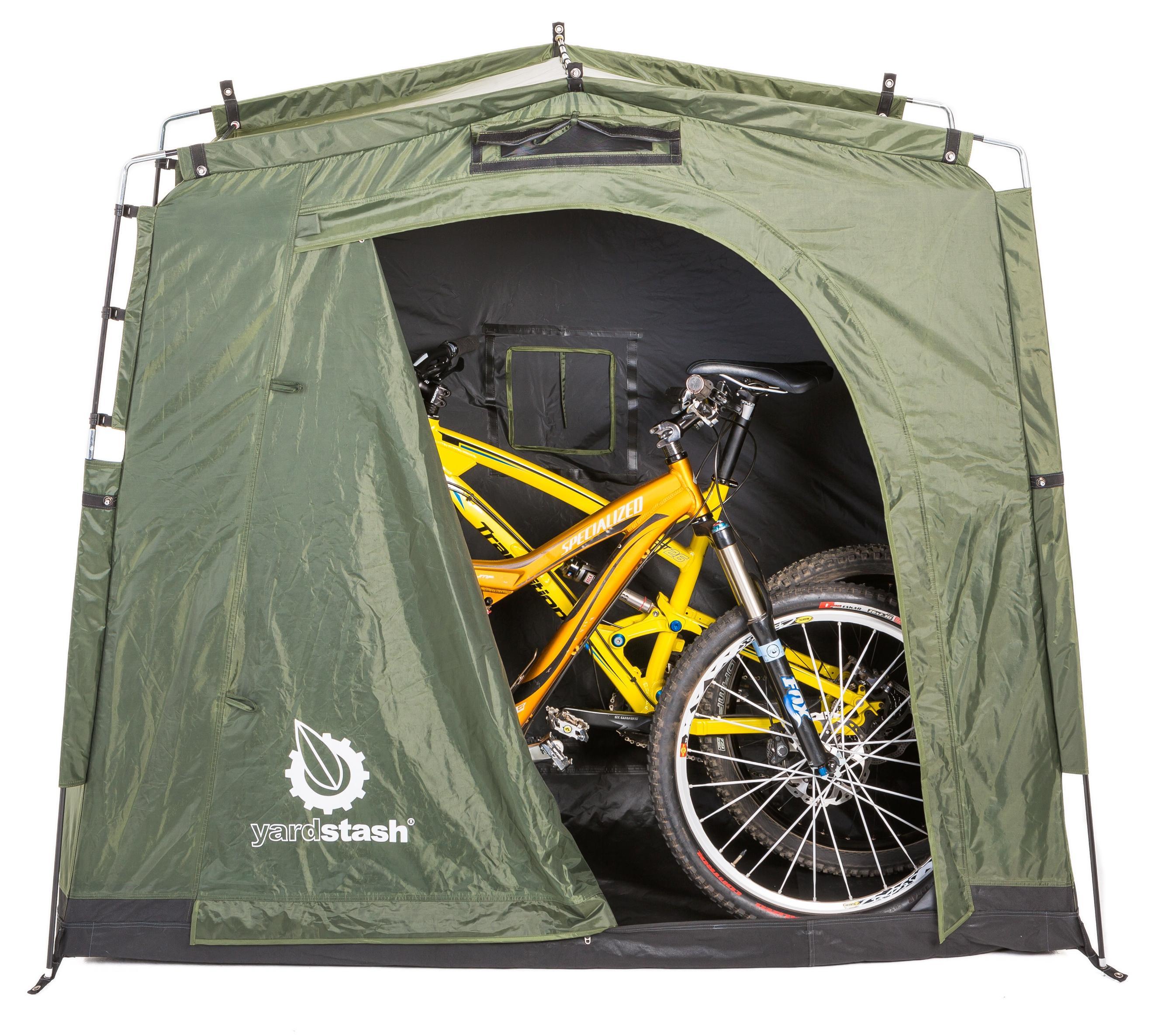 Amazon Com The Yardstash Iii Space Saving Outdoor Bike