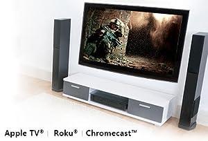 big screen, media casting, roku, apple tv