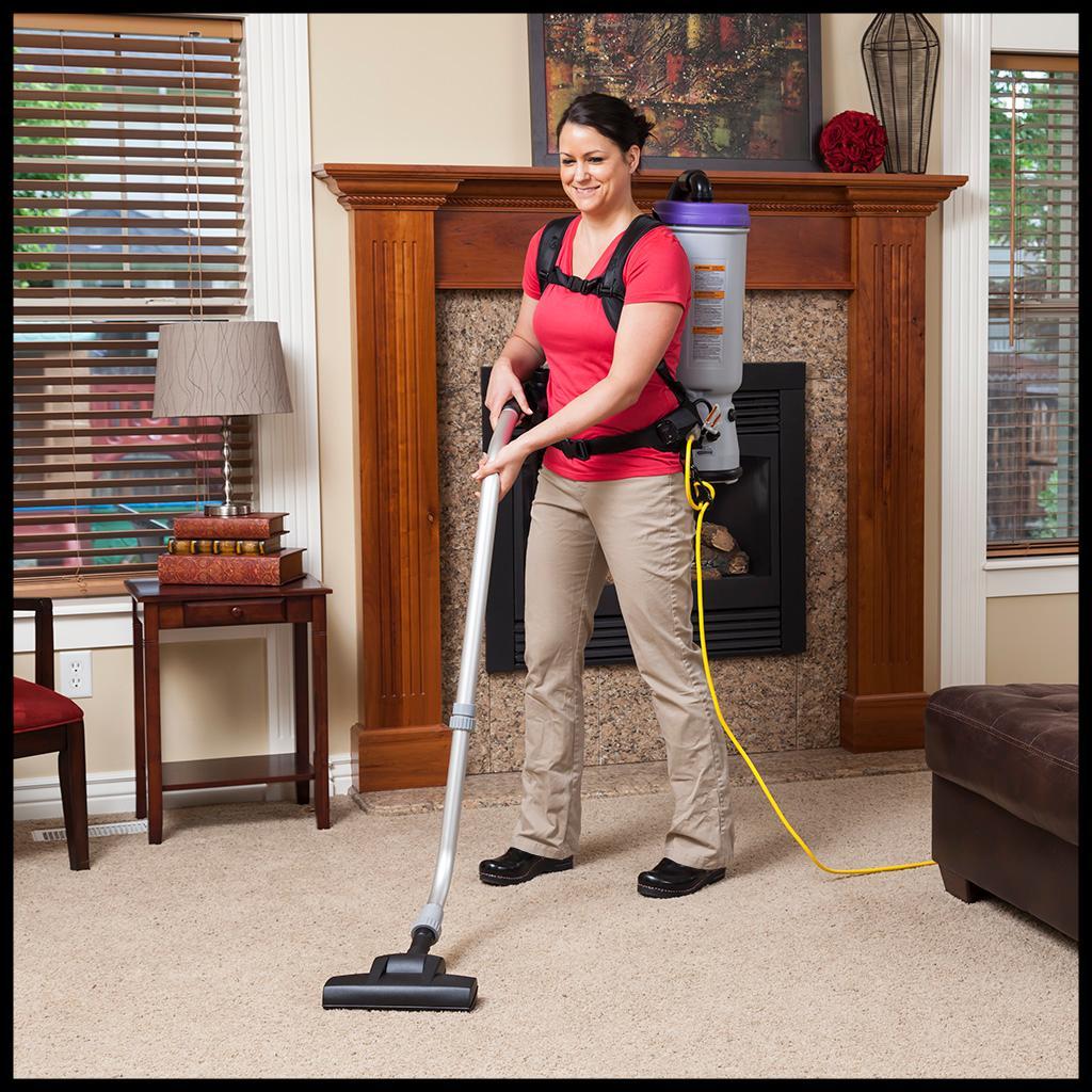 proteam commercial backpack vacuum cleaner. Black Bedroom Furniture Sets. Home Design Ideas