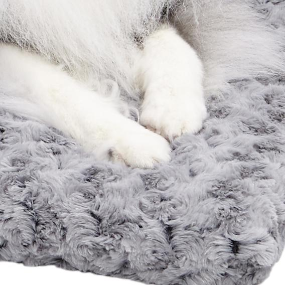 """Amazon.com : MidWest Quiet Time Pet Bed Deluxe Gray Ombre Swirl 46"""" x"""