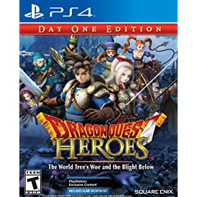 Amazoncom Dragon Quest Heroes The World Trees Woe and the