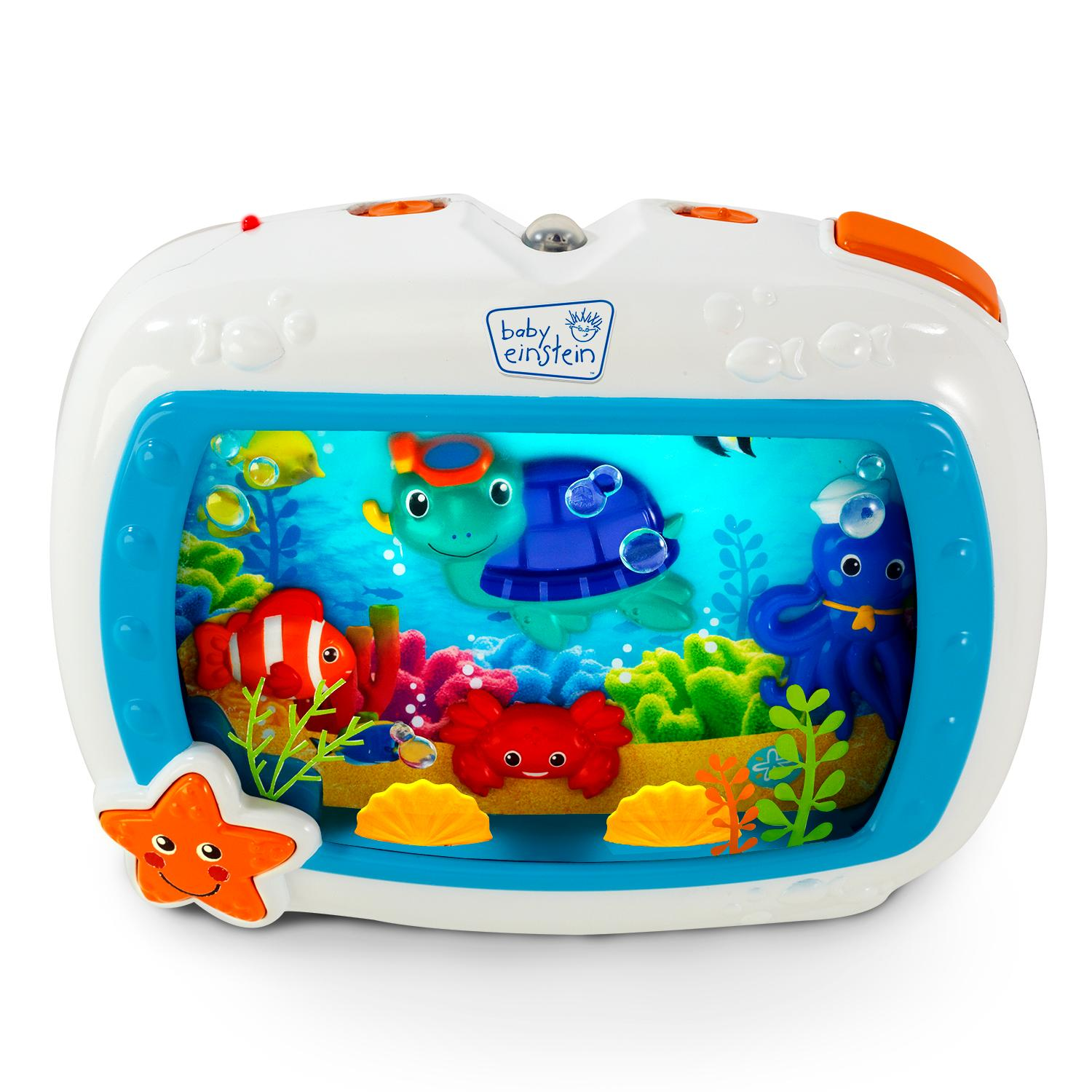 Móbile musical fundo do mar baby einstein sea dreams soother
