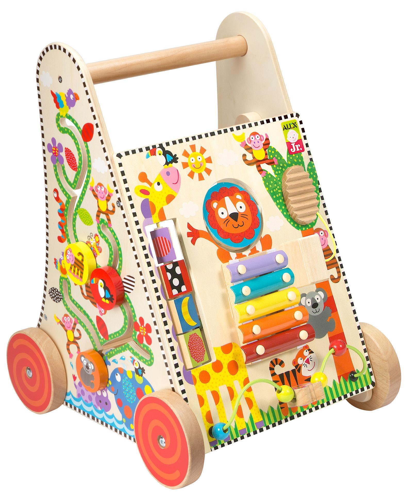 Amazon Com Alex Jr Jungle Fun Activity Cart Toys Amp Games