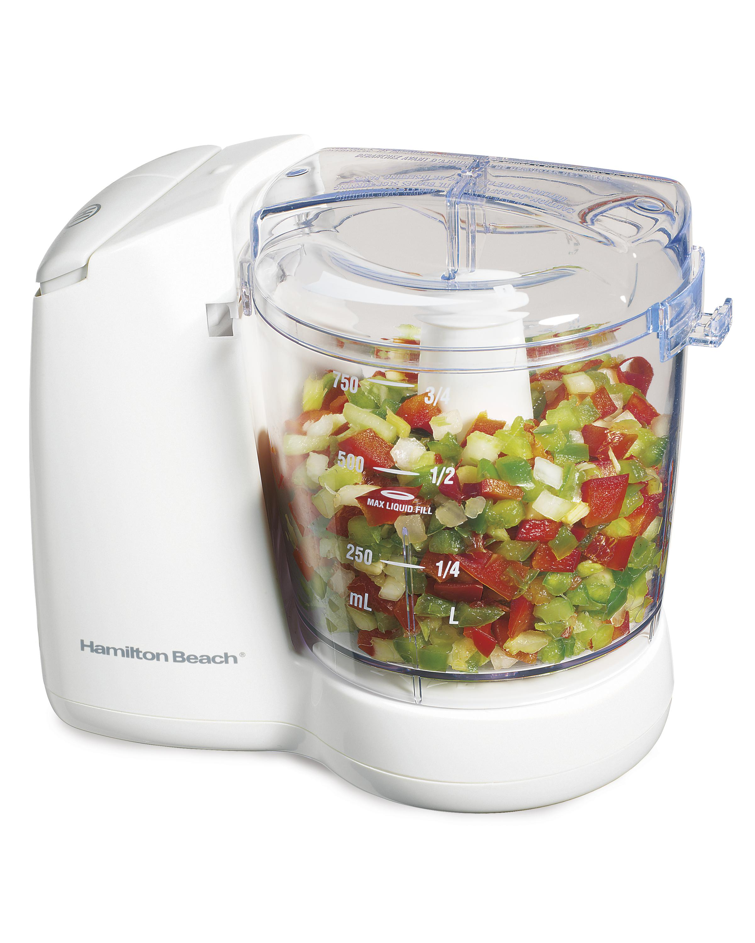Amazon.com: Hamilton Beach 72600 Fresh Chop 3-Cup Food Chopper ...