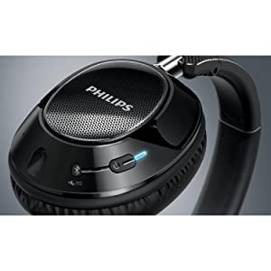 Philips SHB9850NC/27 Wireless noise canceling headphones - Rechargeable battery