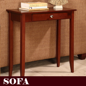 Dhp rosewood tall end table simple design for Small tall end table