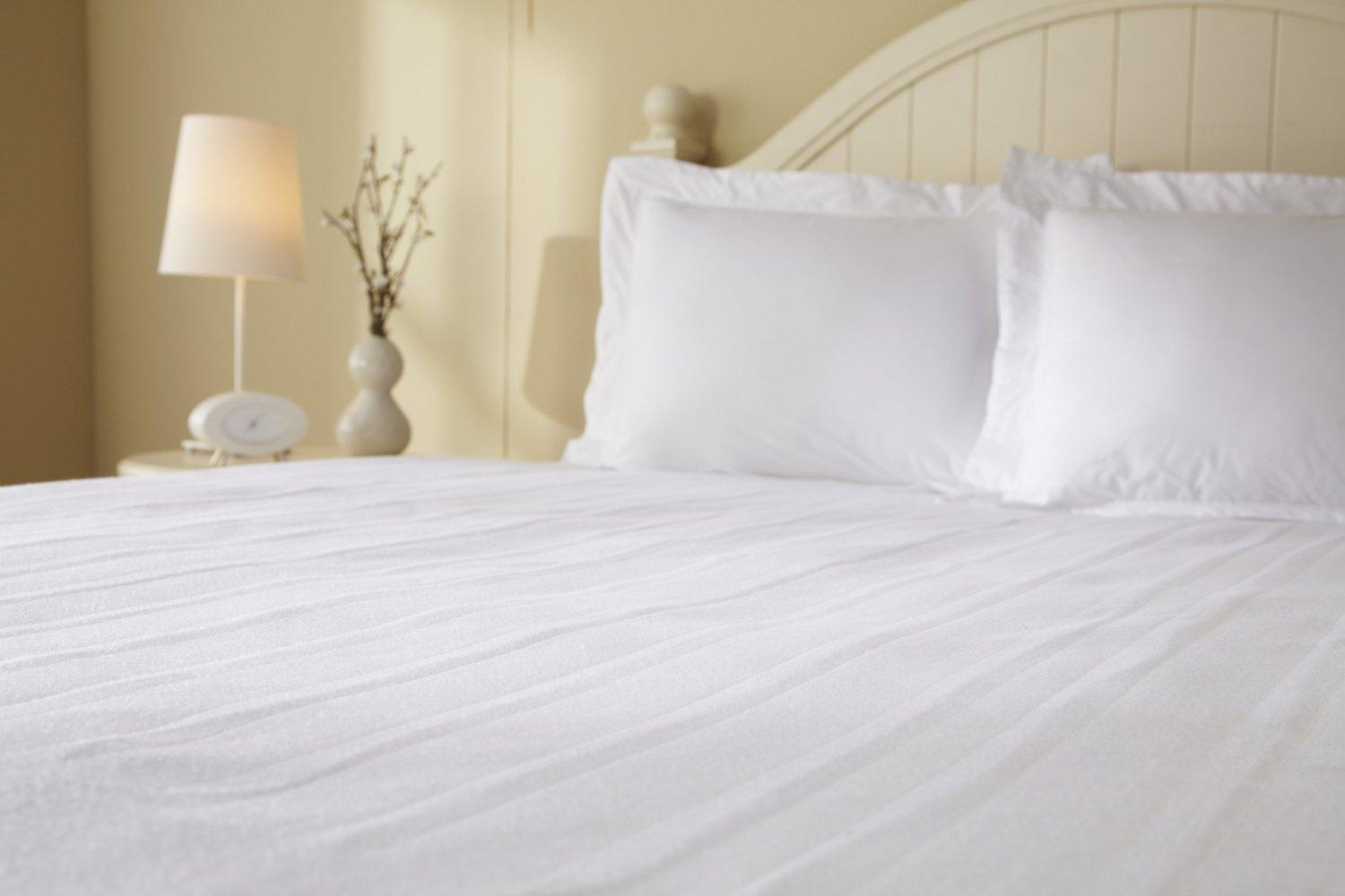 From the manufacturer. Sunbeam Heated Mattress Pad