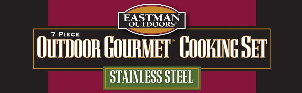 Eastman Outdoors 30 QT Outdoor Cooking Set