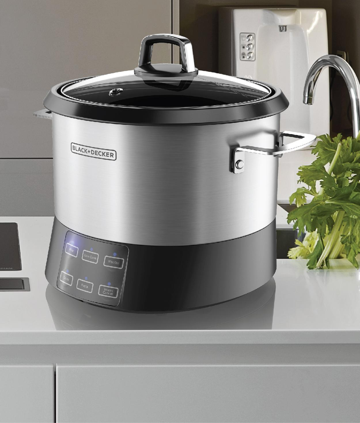 black decker rcr520s all in one cooking pot 20 cup cooked