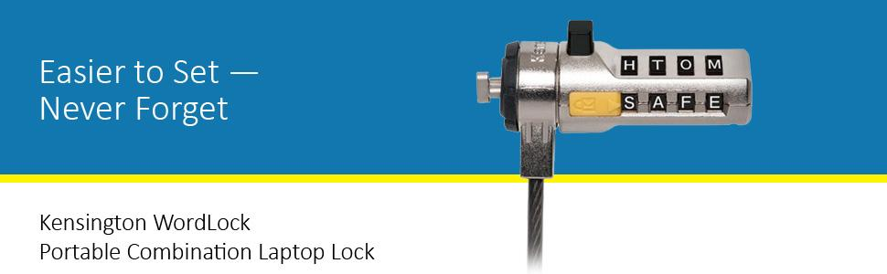 Combination Laptop Lock
