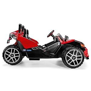 amazon com peg perego polaris slingshot ride on toys games peg perego polaris slingshot ride on