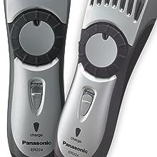 Panasonic ER224S masculine ergonomic design