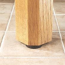 Nailon  Heavy Duty Felt Pads For Wood Furniture And Hard - Chair leg pads for hardwood floors