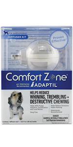 Amazon.com : Comfort Zone Adaptil Collar, Large Dog, 1
