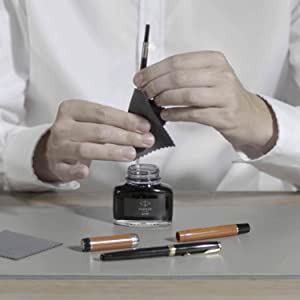 How to refill your fountain pen step 4