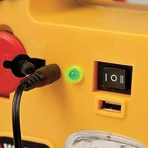 Charging Indicator/Battery Status