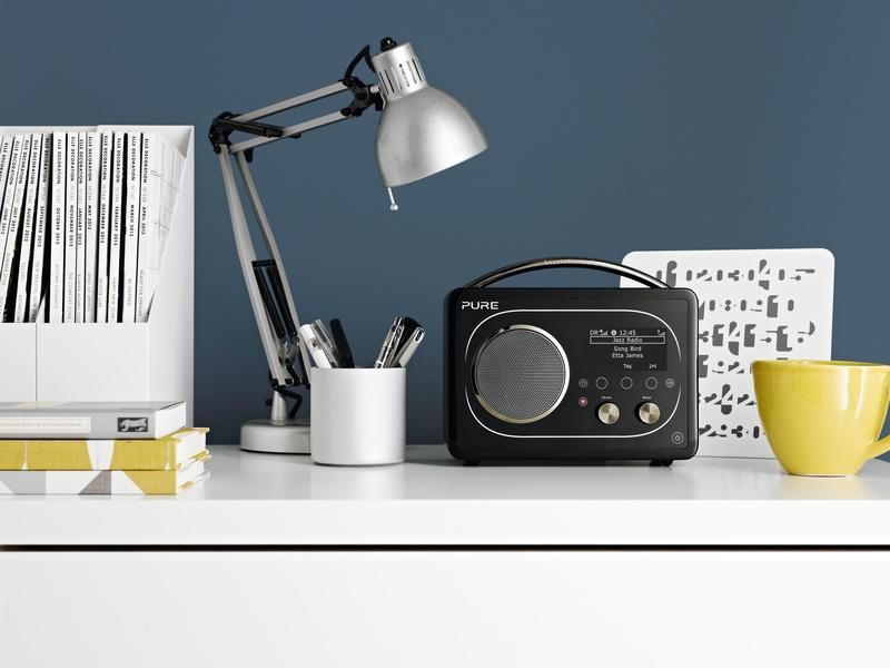 Amazon.com: Pure Evoke F4 Portable Internet Radio with