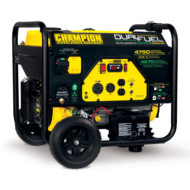 Amazon Com Champion Power Equipment 76533 3800 Watt Dual