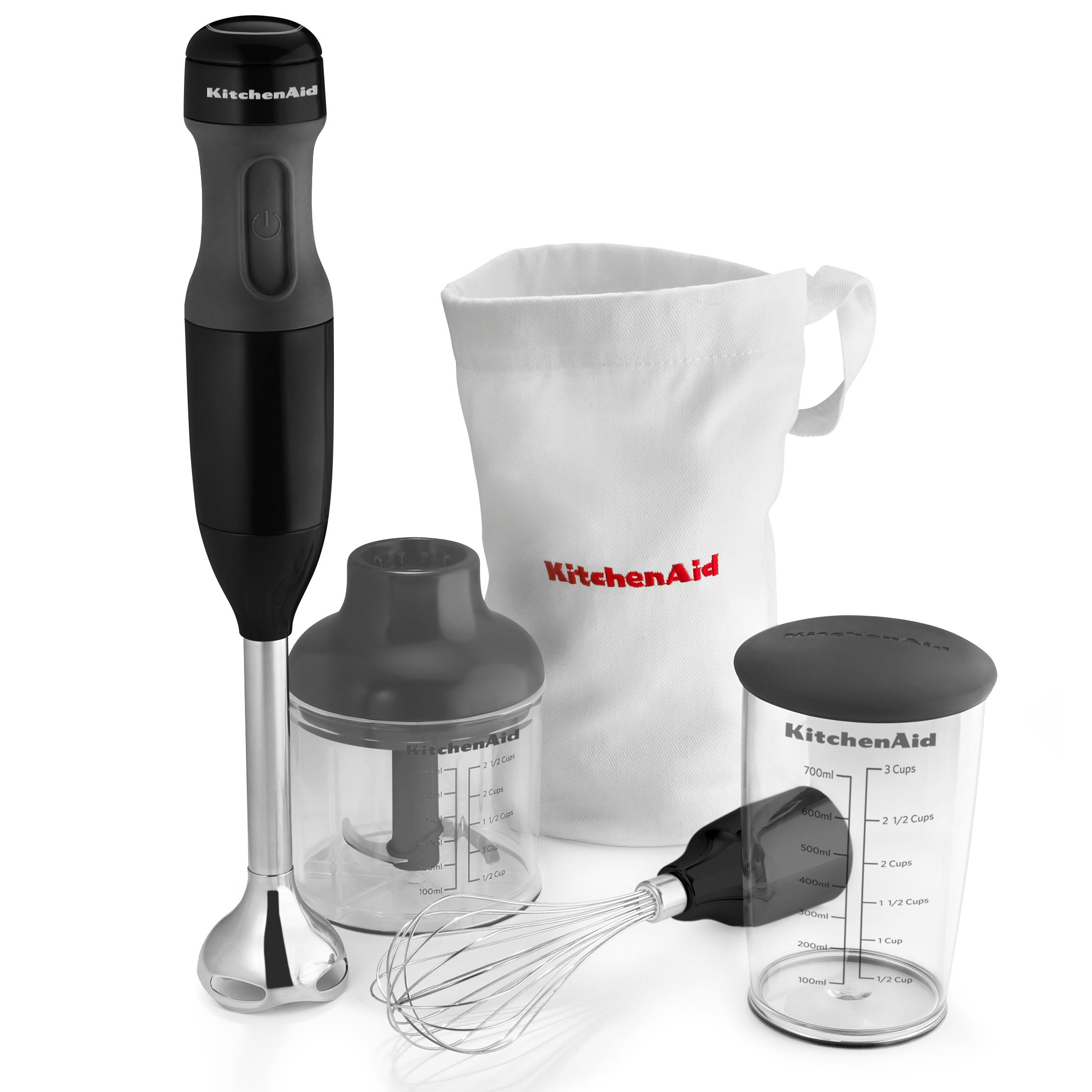 Amazon.com: KitchenAid KHB2352CU 3-Speed Hand Blender - Contour ...