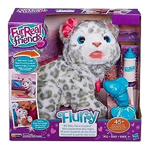 Amazon Com Furreal B2953 Flurry My Baby Snow Leopard